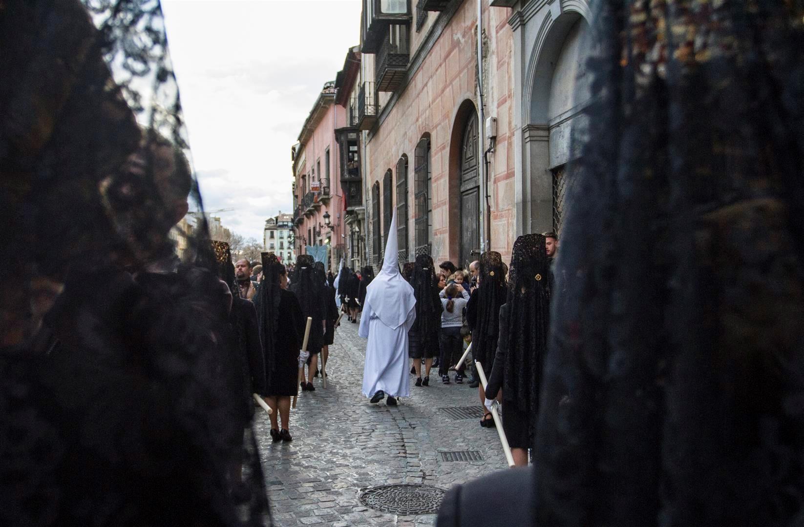 the streets of Granada.