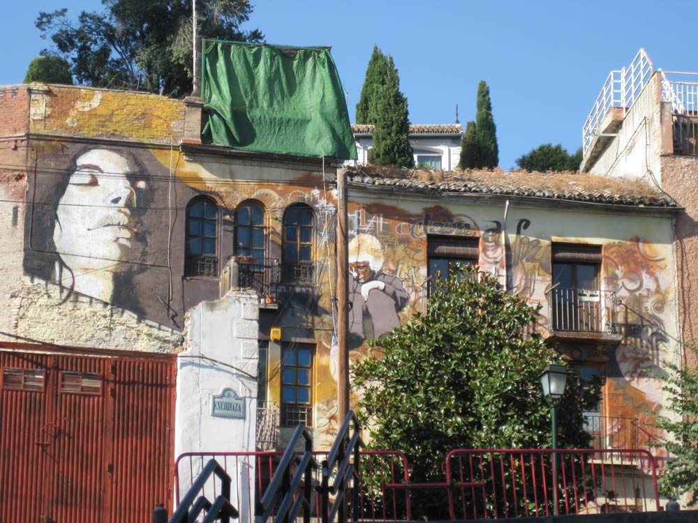 "The house of ""el Nino de las PInturas"""