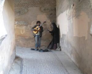 flamenco in Sacramonte